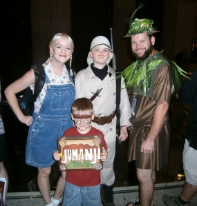 Family Jumanji Costume